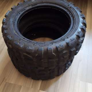 Cst off road tyres 11 inch 95% condition