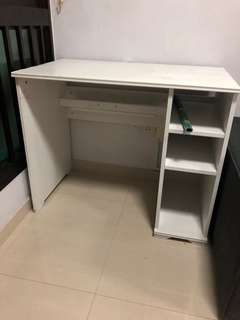 Rush Sale: IKEA Study Table (white)