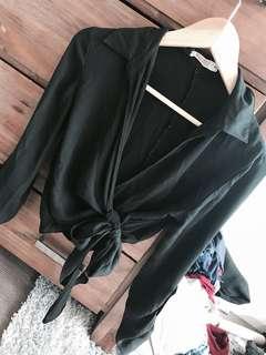 Size 6 crop blouse