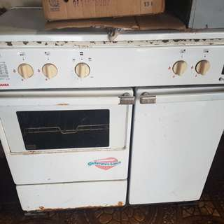 Burner w/oven
