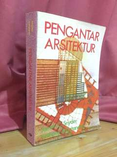 Pengantar arsitektur (james C.snyder,Anthony J.catanese)