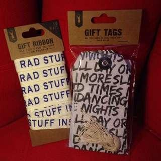 Ribbon and Gift tags