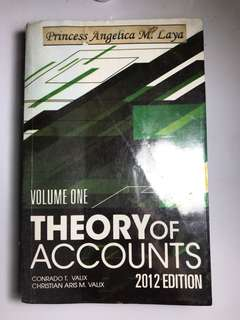 Theory of Accounts Volume One