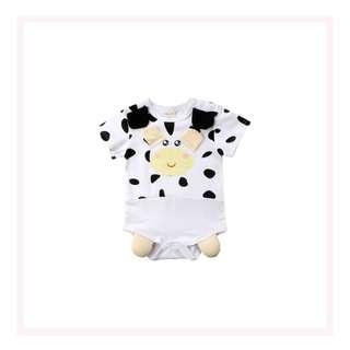 3D Animal Romper - Cow