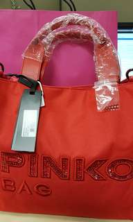 Pinko Tota Bag Red Mother Day Gift