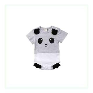 3D Animal Romper - Panda