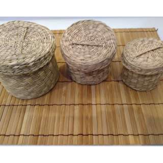Japanese Natural Wooden Product ~100% weed basket~