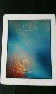 The New Ipad, Ipad 3,  iPad3 ,retina display 80 % new , 32G, wifi  (3G but slot cannot opened) free cable and black flip book cover if no  price negotiation