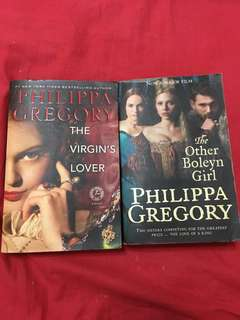 Phillipa Gregory The Virgin's Lover The Other Boleyn Girl the red queen