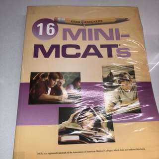 Mini MCATs Assessment Book! pre-med applicants