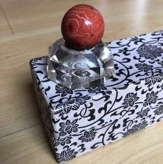 Antique Ball with stand
