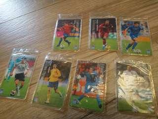 歐國杯足球球星卡套