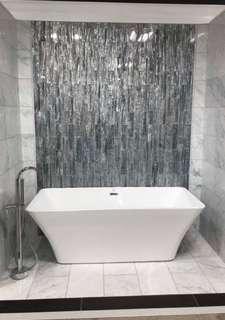 Backsplash Decor Tiles 3D effect
