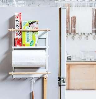 日式冰箱分類掛架-白色