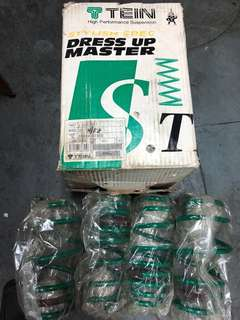 TEIN & RSR performance Lowering Springs Made in Japan