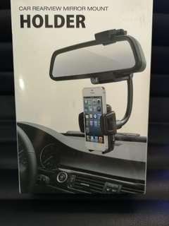 Car rear view mirror mount