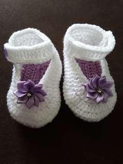 Kasut crochet free size