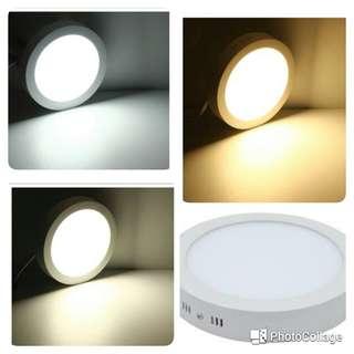 3 Colors Interchangeable LED Surface Panel Light