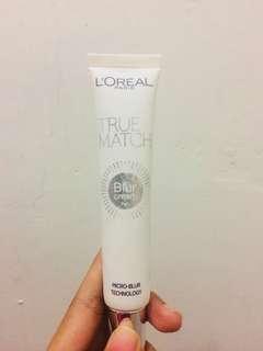 L'oreal true match blur cream