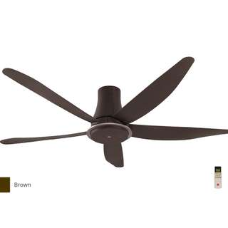 KDK ceiling fan with led 60 inch 5 blade dc motor