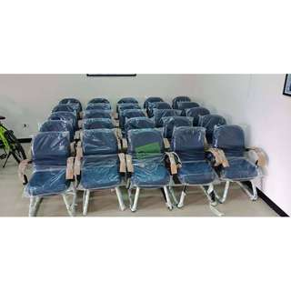 638 AX VISITORS CHAIRS MID BACK SLED BASE _Office Furniture