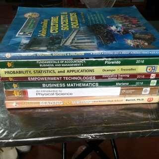 books gr 11 ( 120 each) ABM students