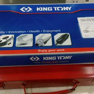 King tony socket set