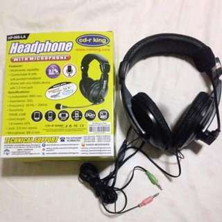 Headphone with built-in Microphone