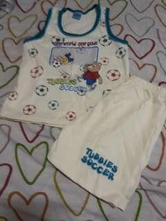 Boys soccer Sando Terno (fits to 1-3yrs old)