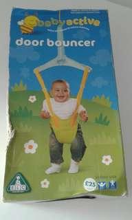 elc active baby door bouncer