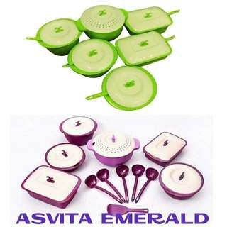 Best Seller Asvita Family Set Emerald