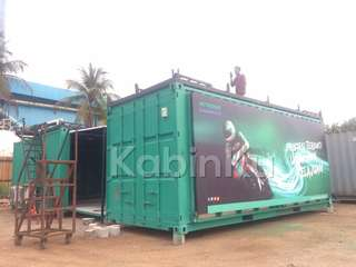Container fabricate