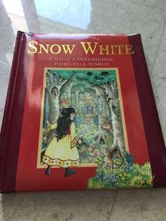 snow white  3D story book