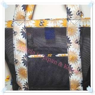 🚚 RONG.SHI.DAI時尚網單肩包 側背包 沙灘包