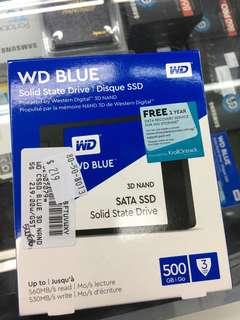 """WD blue 2.5"""" sad 7mm"""