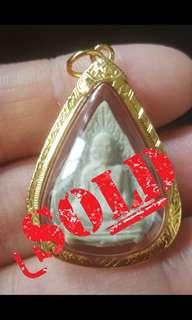 !!! SOLD!!!   Roop Mueng Bai Poh Yan Tri LP Toh  Wat Pradochimplee BE 2521~2523