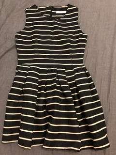 全新 條紋洋裝