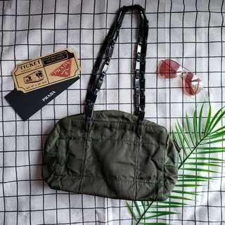 Prada vintage tote bag chain bag shoulder bag單肩袋