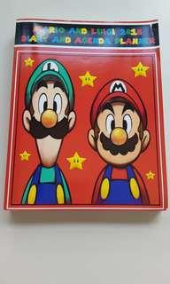 Super Mario/Luigi 2018 Diary & Agenda Planner