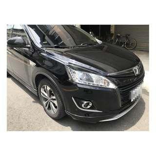 2015年 納智捷U6 新車85.9魅力版 黑色 跑5.8萬