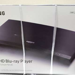 100% new Samsung三星 Ultra HD Blu-ray Player 4K (UBD-M8500)