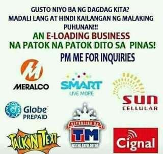 E-LOADING BUSINESS (1 SIM LOADS ALL NETWORK) ❣️