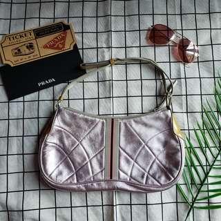 Prada vintage tote bag chain bag shoulder bag小手袋單肩袋