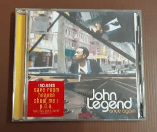 CD John Legend - Once Again ( M'sia Press )