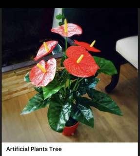 3 artificial plants