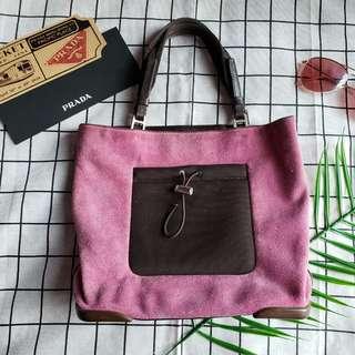 Prada vintage tote bag chain bag shoulder bag手提袋