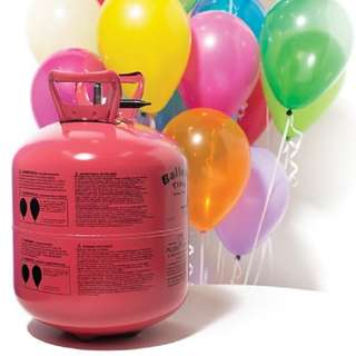 DISPOSABLE HELIUM TANK (100 Balloons)