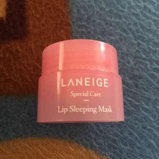 Authentic preloved laneige lip sleeping mask
