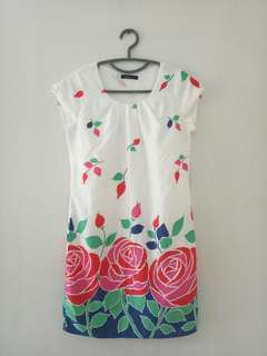 CANDY floral dress