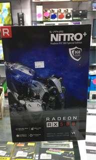 Sapphire nitro + RX 580 8gb